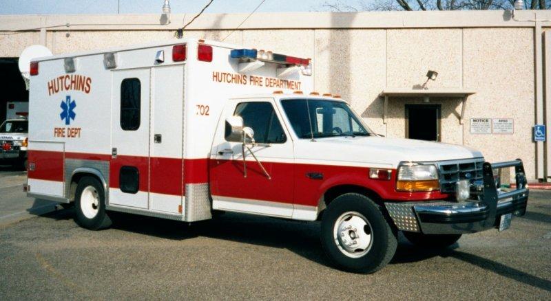 Hutchins Fire Department Patch Texas TX